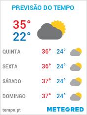 Previsão do Tempo em Palmas - Tocantins
